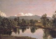 Frederic E.Church The Catskill Creck oil on canvas